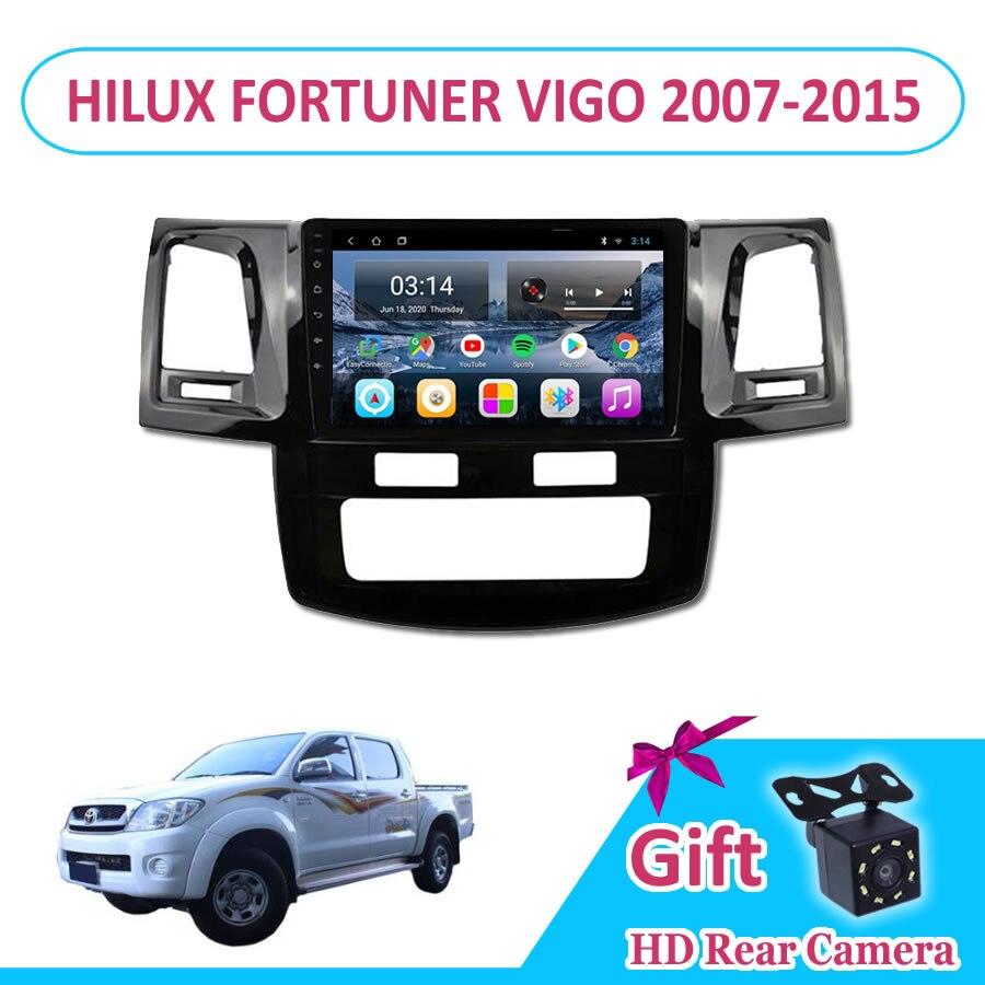 9 ''IPS Android 9 автомобильное радио мультимедиа TOYOT HILUX FORTUNER VIGO 2007-2015 Автоматическая GPS навигация Navi плеер Авто стерео WIFI