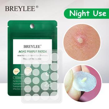 Pegatinas para tratamiento del acné nocturno, 5 hojas, belleza Facial, cuidado de...