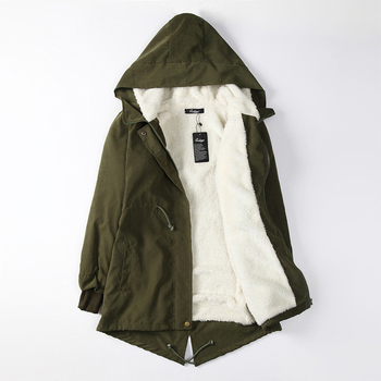 цена на Winter Jacket Women Plus Size Womens Parkas Women's Hooded Jackets Thicken Outerwear Solid Hooded Coats  Pregnancy Clothes