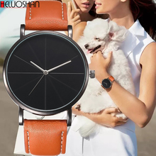 Hot Fashion Quartz Watch Women Watches Female Clock Montre Femme Relogio Feminino Luxury Men WristWatch Couple Leather Relojes montre homme fashion women dress watches lady elegent quartz watch soft silicone strap clock female wristwatch relogio masculin