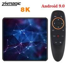 Tv Box A95X Allwinner H6, Android 9,0, decodificador de alta velocidad con Android, 4G, 32GB, 64GB, dispositivo de Tv inteligente, USB