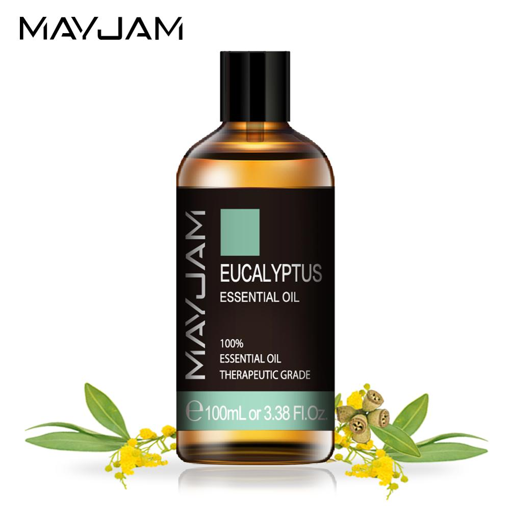 Eucalyptus Lavender Essential Oil 100ml Pure Natural Diffuser Essential Oils Mint Vanilla Cloves Orange Lemon Tea Tree Aroma Oil