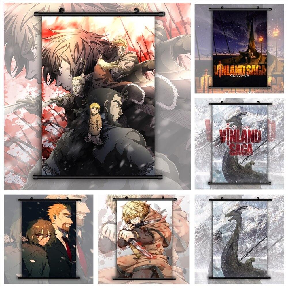 Vinland Saga Anime Manga HD Print Wall Poster Scroll(China)