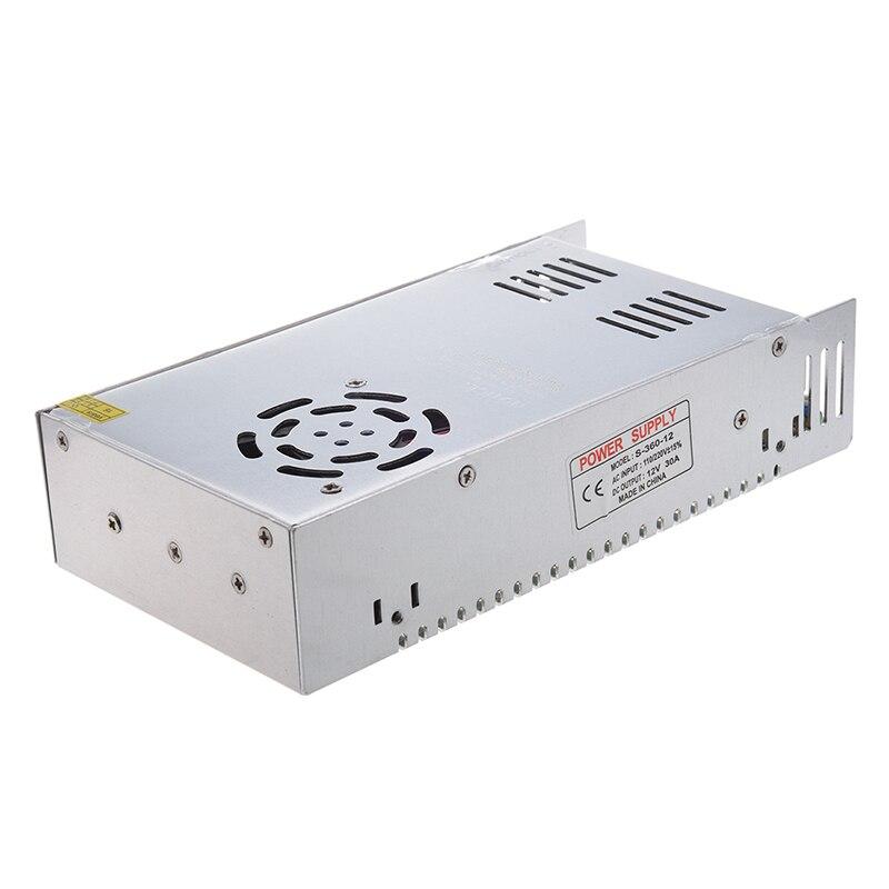 뜨거운 3c ac 110/220 v dc 12 v 30a 360 w led flexable 스트립 빛에 대 한 스위칭 전원 공급 장치 변환기-에서AC/DC 어댑터부터 가전제품 의
