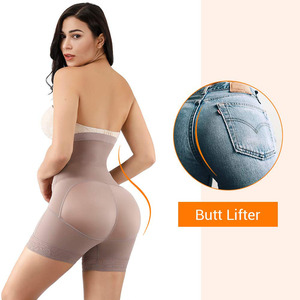 Image 3 - Lover Beauty High Waist Control Panties for Belly Recovery Compression Butt Lifter Slimming Underwear Postpartum Girdle