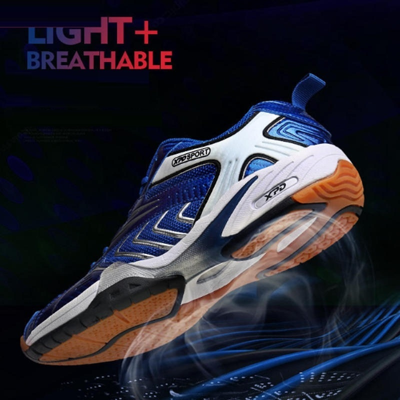Professional Row Of Shoes Mens Sports Breathable Volleyball Shoes Women Damping Skidproof Tennis Sneakers