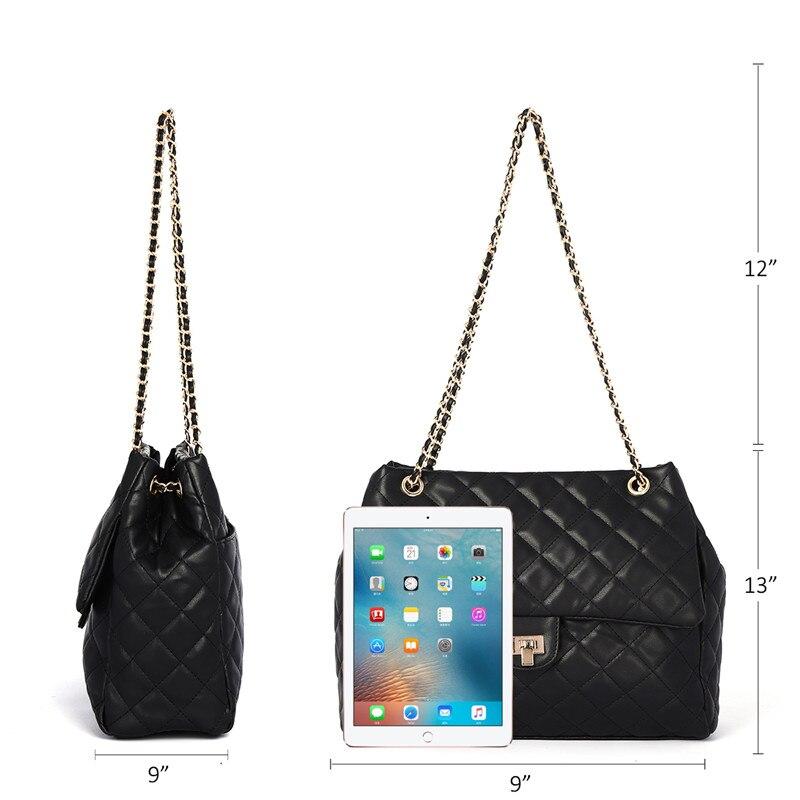 Image 3 - K928 женские повседневные сумки модные бриллиантовые сумки через плечо 8090Сумки с ручками