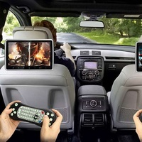 10.1 Inch Hd Digital Multimedia Monitor Super Thin Car Headrest Dvd Player,Headrest Monitors With Hdmi Port And Remote Control U