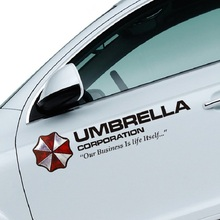 Car-Sticker Car-Window-Decal Official-Umbrella Reflective Evil CORPORATION GREY 1pcs