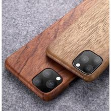Iphone 12 11 /11プロ/11プロマックスクルミenonyローズウッドマホガニーリアル木製ヴィンテージバックハードスリムケースカバー