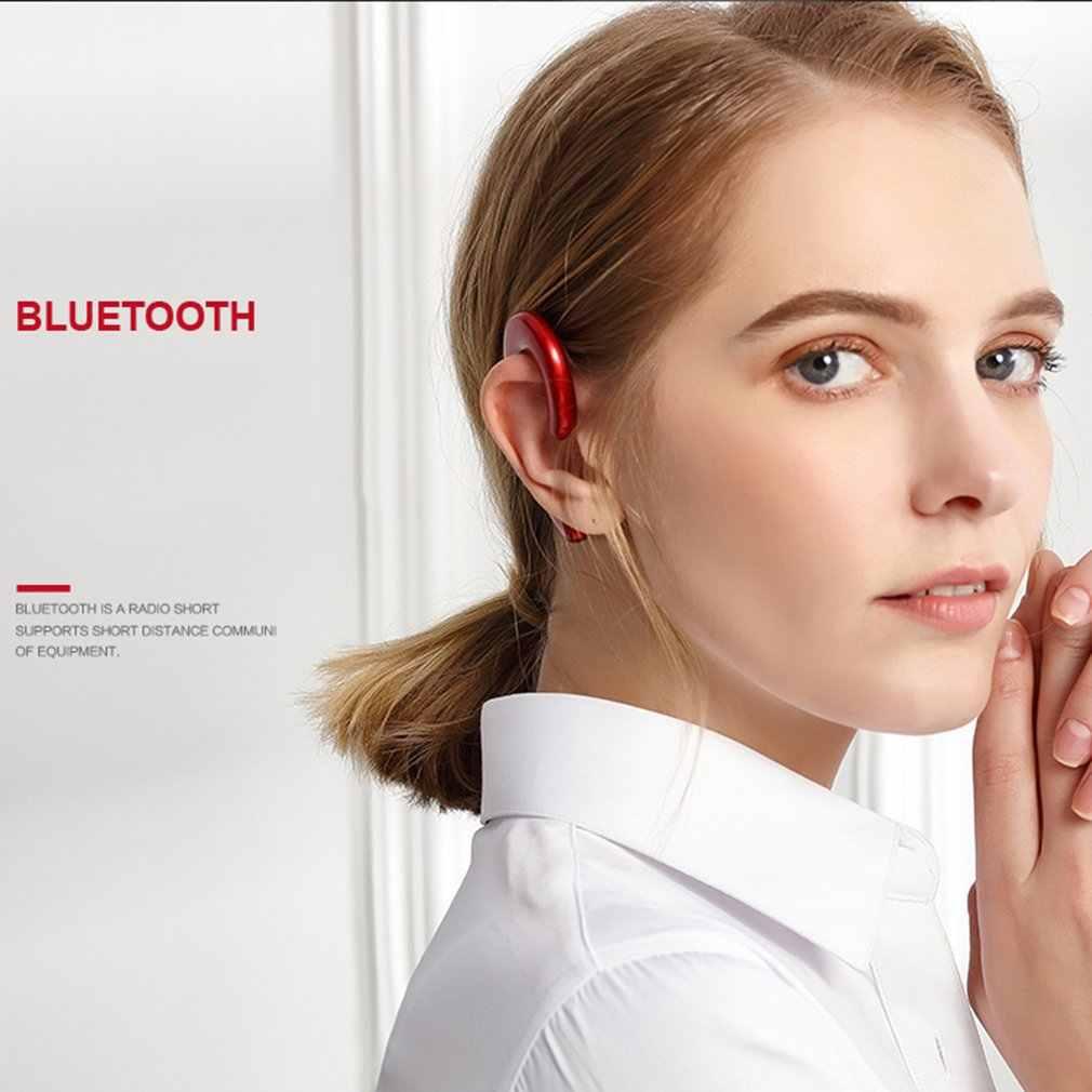 K8 przewodnictwa kostnego słuchawki sportowe słuchawki zestaw słuchawkowy bluetooth wolne ręce kierowca samochodu słuchawki zaczep na ucho bezprzewodowe słuchawki douszne z mikrofonem