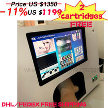 latest model DIY nail art printer machine mobil wireless transfer photo via bluetooth