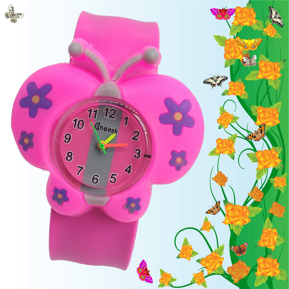 Mother Sends A Gift For The Children Girl Butterfly Watch Children Boy Students Clock Child Watches Kids Baby Christmas Gift