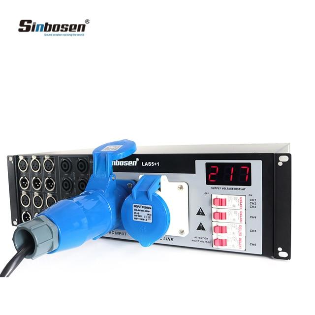 Professional audio system equipment LAS5+1 Line Speakers Power Controller Distributor