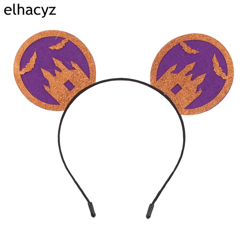 1PC New Halloween Festival 3 3 39 39 Minnie Kids Minnie Mouse Ears Hairband DIY Boutique Hair Accessories in Hair Accessories from Mother amp Kids