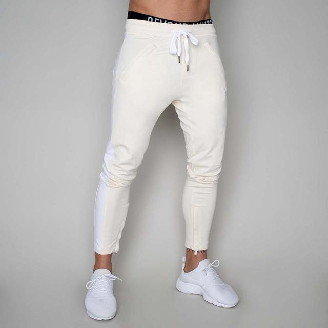 Alphalete Mens Joggers Casual Pants Fitness Men Sportswear Tracksuit Bottoms Skinny Sweatpants Trousers Gyms Jogger Track Pants 4