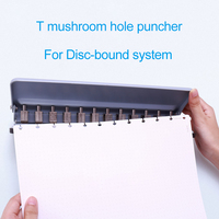 Mushroom Hole Punch 12 Holes Puncher Disc Bound Notebook and Journals Accessories A4/A5/A6/A7/B5 Happy Planner Binding Supplies