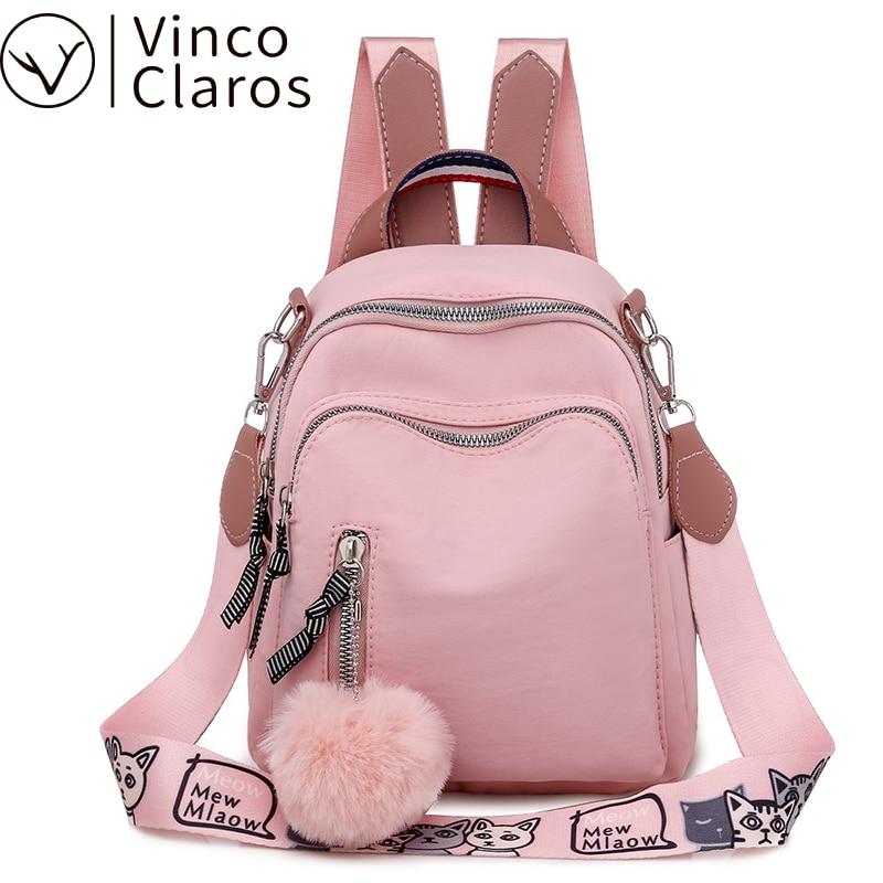 Маленький женский рюкзак, мини рюкзак, корейская мода, Книжная сумка, высокое качество, дорожный рюкзак Оксфорд для девочки подростка, Mochila Feminina Рюкзаки      АлиЭкспресс