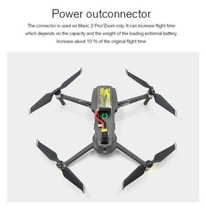 Image 3 - STARTRC Mavic 2 Battery Power Out Connector Battery Adapter Increase Flying Time / lights connect For DJI Mavic 2 Accessories
