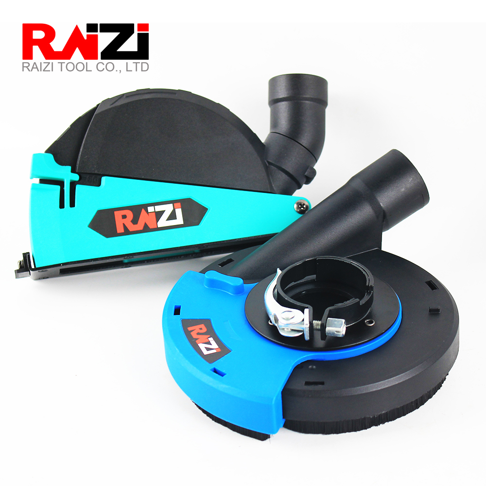 Raizi 5 inch/125 mm Universal Dust Shroud Kit Dry Cutting Grinding Cover Tool For Angle Grinder