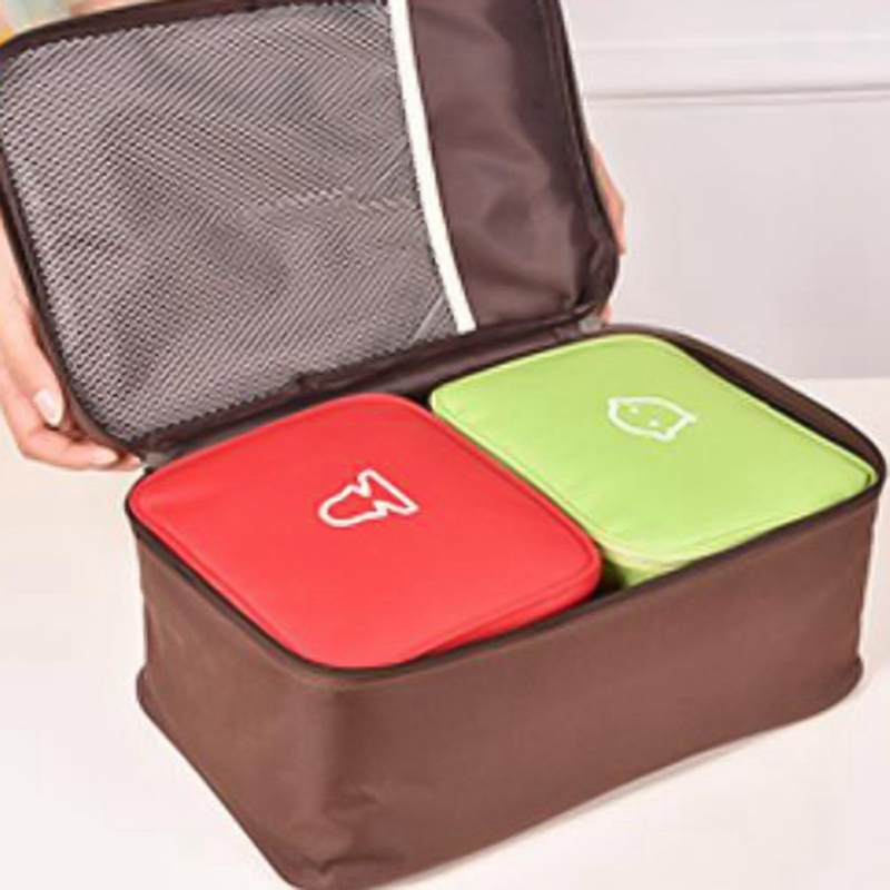 Cute Mini Portable Medicine Bag First Aid Kit Medical Emergency Kits Organizer Outdoor Household Pill Bag