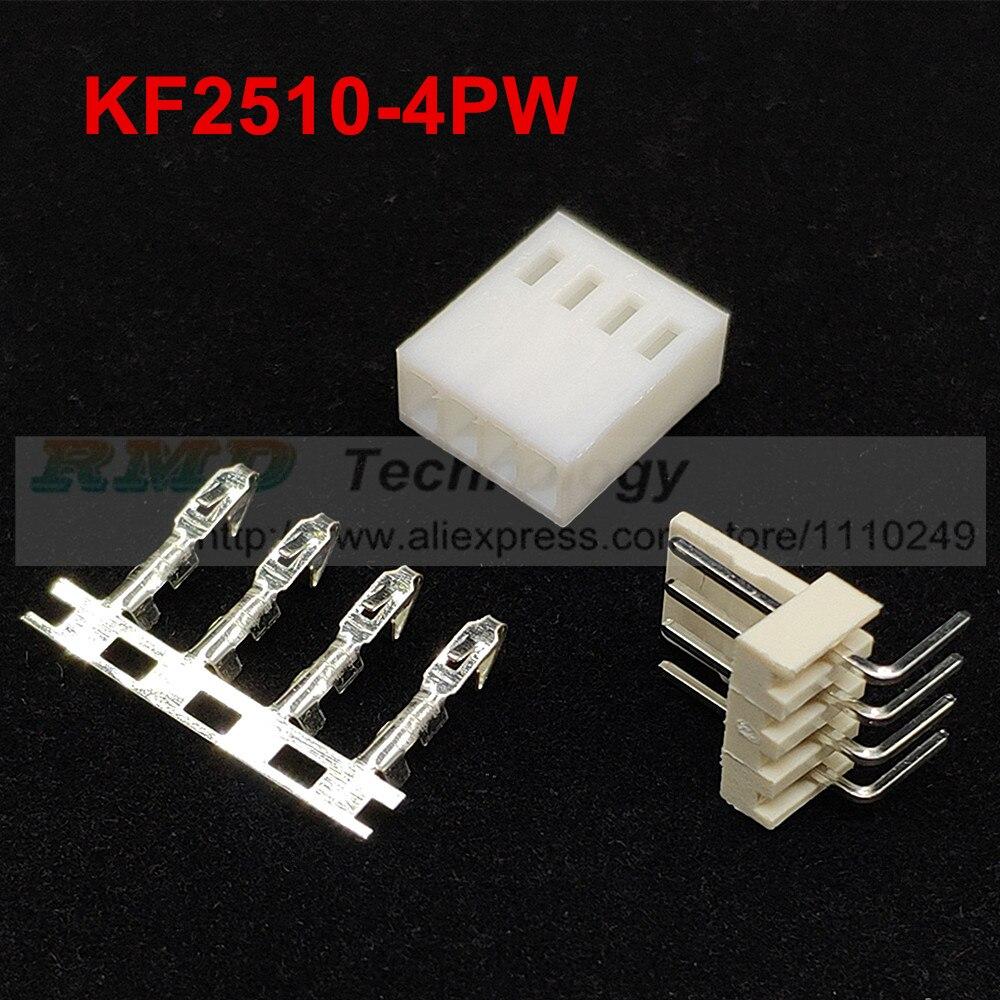 50Pcs Female Crimp Pins For Fan Connector Housing Plug 2.54mm Pitch 2510 PC Mod