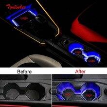 Tonlinker внутренний Автомобильный держатель для воды/Centet декоративный светодиодный светильник для Volkswagen POLO автомобильный Стайлинг 1 шт. светодиодный фонарь