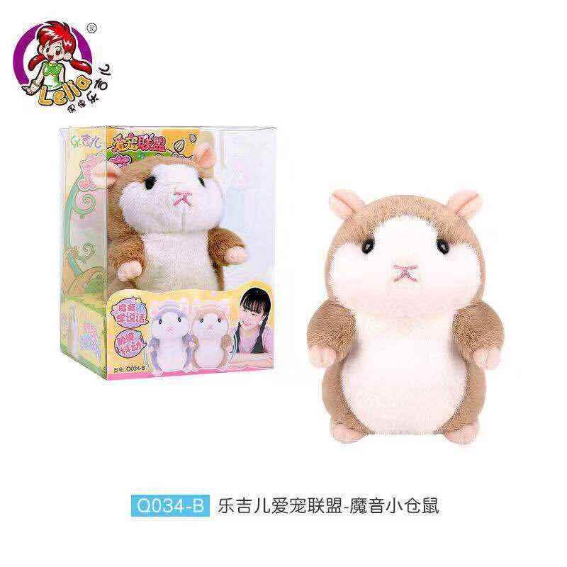 Nouveaux produits jouets son magique petit Hamster Q034 jouet éducatif pour enfants animal tactile gigue apprendre à parler petite souris