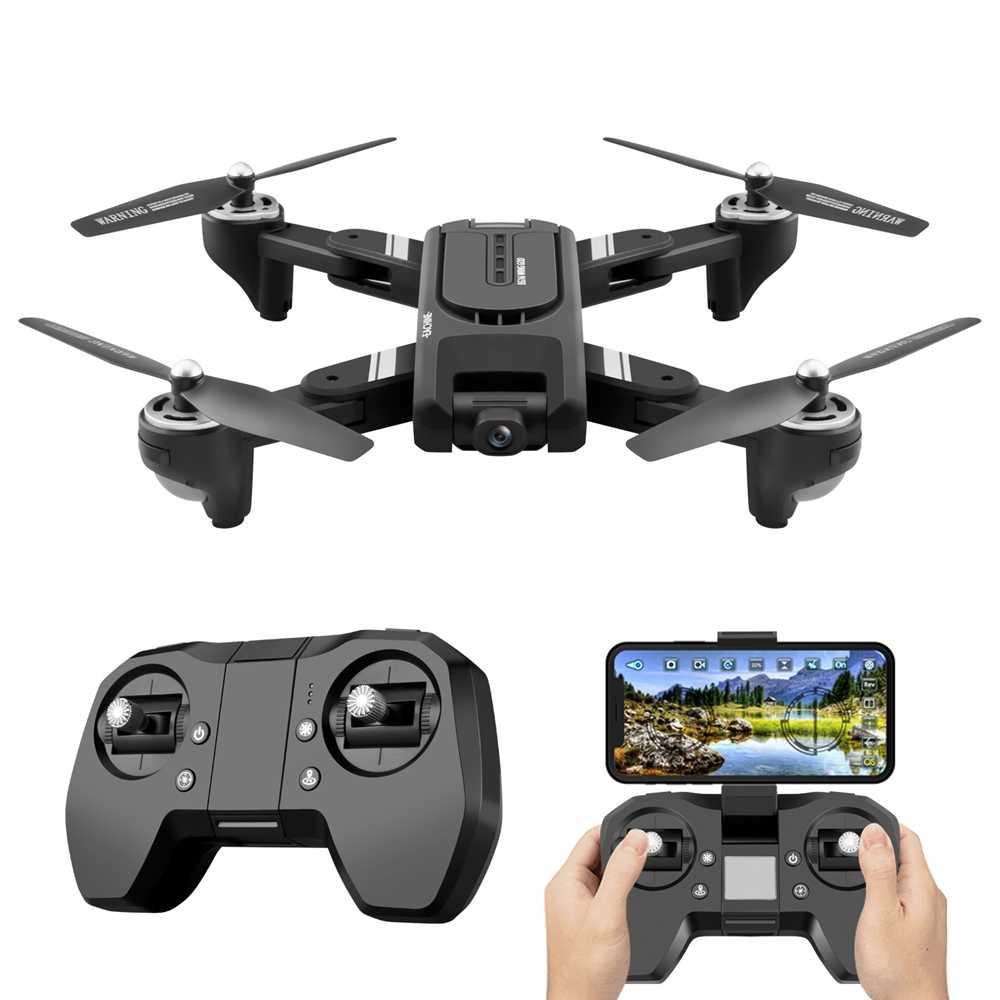 Eachine EG16 Winggod GPS 5G Wifi FPV dengan 4K HD Dual Camera Optical Menyebar Posisi RC Drone Quadcopter RTF