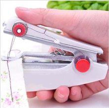 1pc Portable Mini manuel Machine à coudre Simple opération outils de couture tissu à coudre pratique couture outil