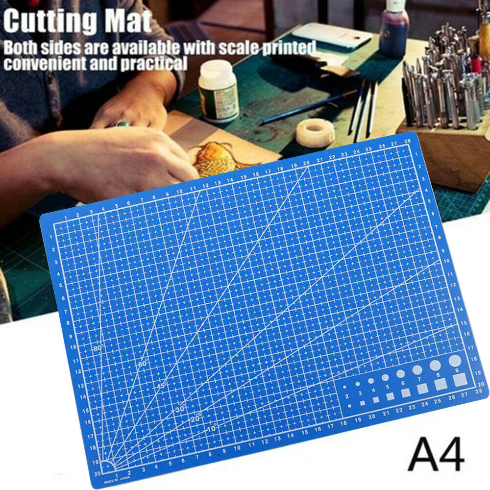 PVC Cutting Mat A4 Durable Self-Healing Cut Pad Patchwork Tools Handmade Ouble-sided Self-healing