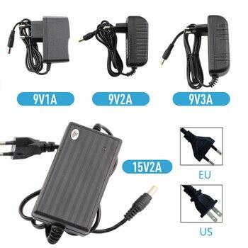 цена на AC/DC 9V 15V Power Supply Adapter Universal Converter 220V TO 15V 9V 1A 2A 3A 4A 5A Charger AC TO DC Power Adapter Supply EU US