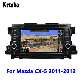 Car radio GPS Navigation Reversing Image Car Android multimedia player Touch Screen support DVD For Mazda CX-5 2011 2012
