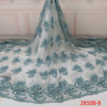 Lace Embroidery Fabric Dresses, Nigeria Lace Handmade Lace Fabric, Wedding Dresses Bridal Luxury Lace Mr2850b