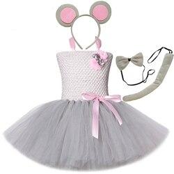 Meninas roupas de bebê para meninas vestido de tutu crianças traje animal crianças vestidos de halloween para meninas roupas de bebê para festa de aniversário