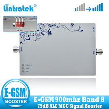 Lintratek EGSM 900MHz 2G 3G ALC Signal Repeater 75dB GSM 900MHZ (Band 8) UMTS 3G Mobile Signal Booster Cell Phone Amplifier борцовка с полной запечаткой printio отражение