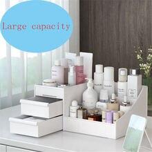 Большая емкость косметическая коробка для хранения бытовая столешница