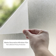 45/60/90*200 Cm Frosted Privacy Window Film PVC Static Cling Glass Tinting matte Heat Insulation Foil for Bedroom Office