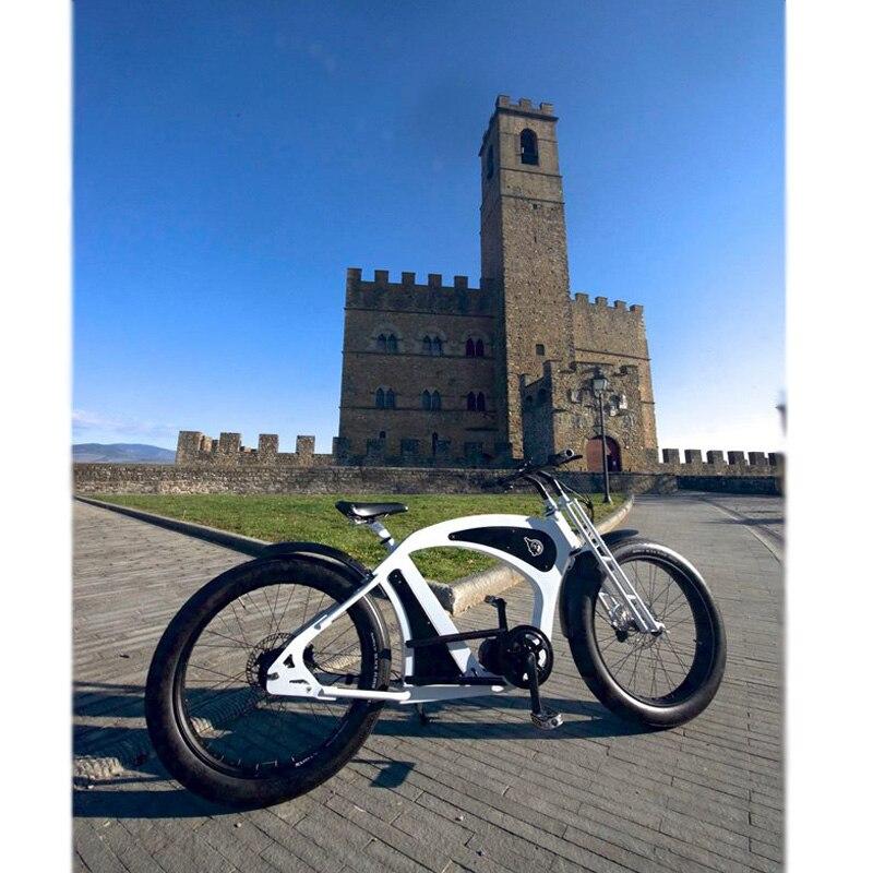 Elektrische fahrrad Bafang 350W e-bike cruiser fahrrad conversion kit