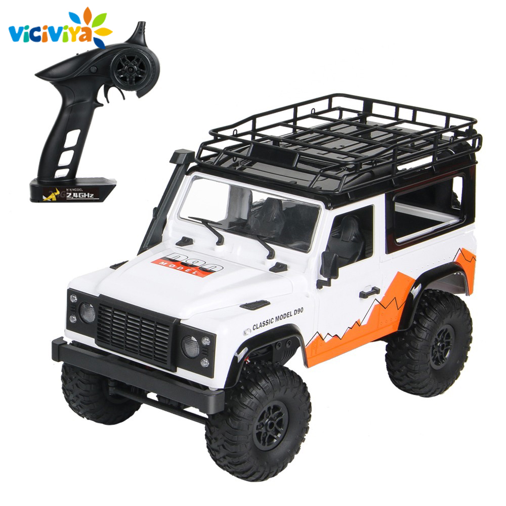 MN 99 2 4G 1 12 4WD RTR Crawler RC Car For Land Rover 70 Anniversary