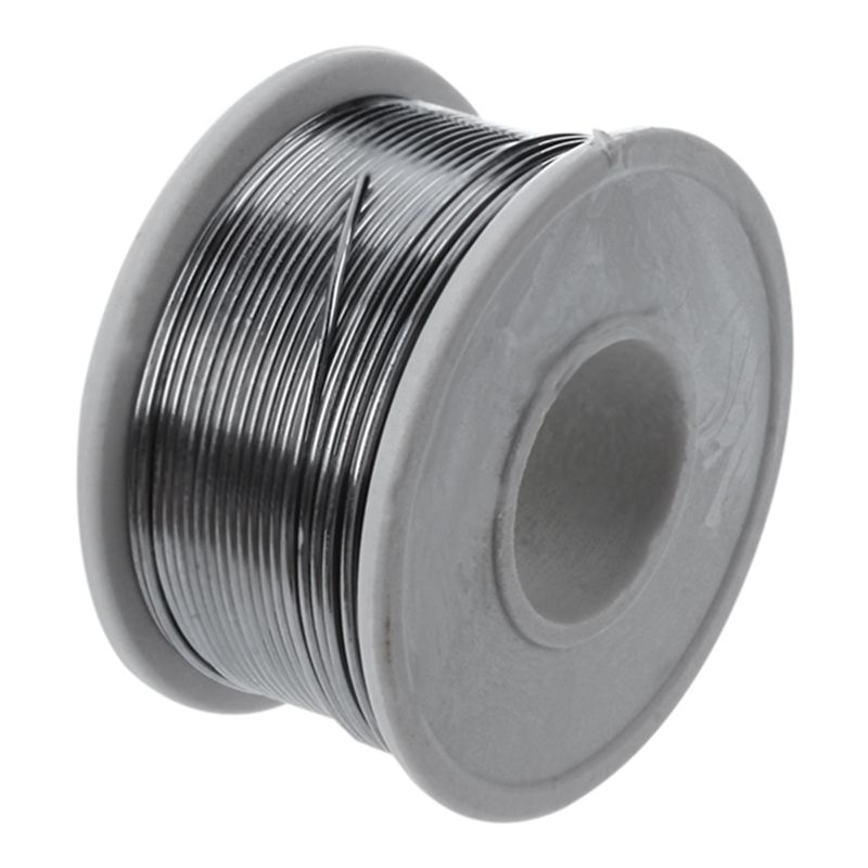 1 Spool Solder Tin Lead Wire Rosin Core 1mm Dia 35 Feet Long Cable