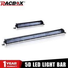 5D Lens 10 20 Inch Ultra Slim Led Work Light Bar 12V 24V For Car 4WD ATV SUV UTV Trucks 4x4 Offroad Auto Spotlight Driving Light