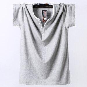 Image 4 - Plus Size 5XL 6XL 7XL 8XL Men Big Tall T shirt Short Sleeves Oversized T Shirt Cotton Male Large Top Tee Summer Fit T Shirt Men