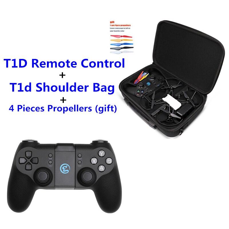 tello Drone and Gamesir T1d Shoulder Bag Tello Drone GameSir T1d Remote Controller Joystick For ios7