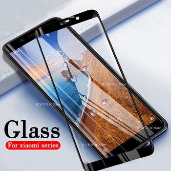 Ksiomi redmi 6a vidrio Protector para xiaomi redmi 7a 5a Protector de pantalla de vidrio templado xiami xiomi A7 A6 A5 5 6 película de seguridad 7 A