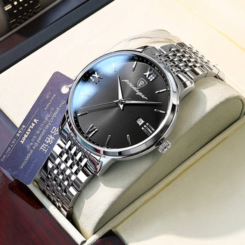 Strona główna produkty produkty tanie i dobre opinie BIZNESOWY QUARTZ 5Bar 42mm Szkło Kwarcowe zegarki Porcelany PLATYNA Klamerka z zapięciem CN (pochodzenie) Plac do pływania