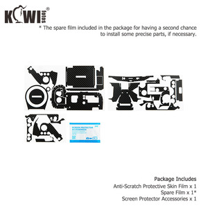 Image 5 - Film de Fiber de carbone de peau de couverture de corps de caméra anti rayures pour Sony RX100 VII RX100VII RX100M7 RX100 Mark VII caméras 3M autocollant