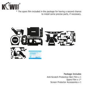 Image 5 - נגד שריטות מצלמה גוף כיסוי עור סיבי פחמן סרט עבור Sony RX100 VII RX100VII RX100M7 RX100 סימן VII מצלמות 3M מדבקה