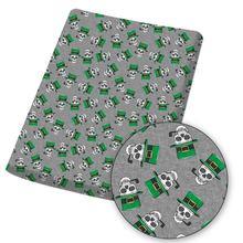 Хлопко бумажная ткань полиэфира лист из ткани с шапка мультипликационным