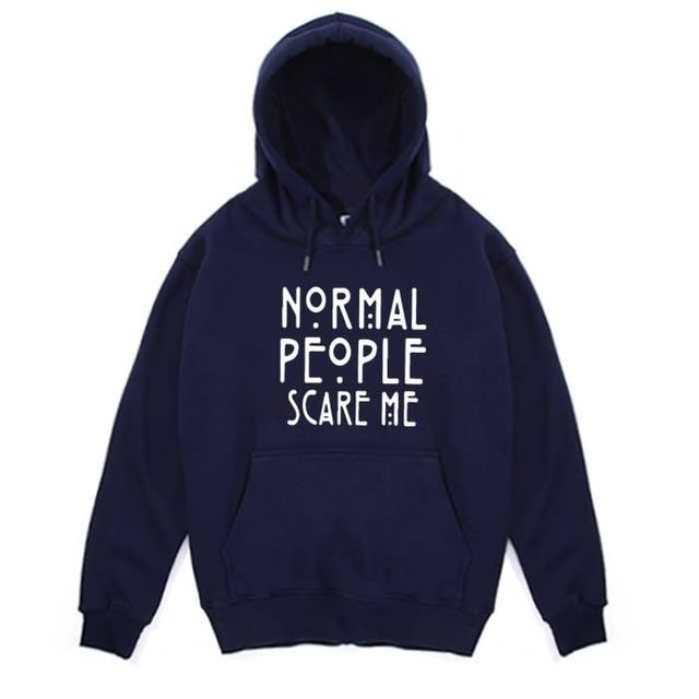 American Style  men's and women's Hoodies Ovrsiezed Sweatshirt Letter Print crewneck hooded vintage  clothes for teens  Cotton 3